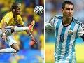 Estrellas de la Copa, Neymar y Messi