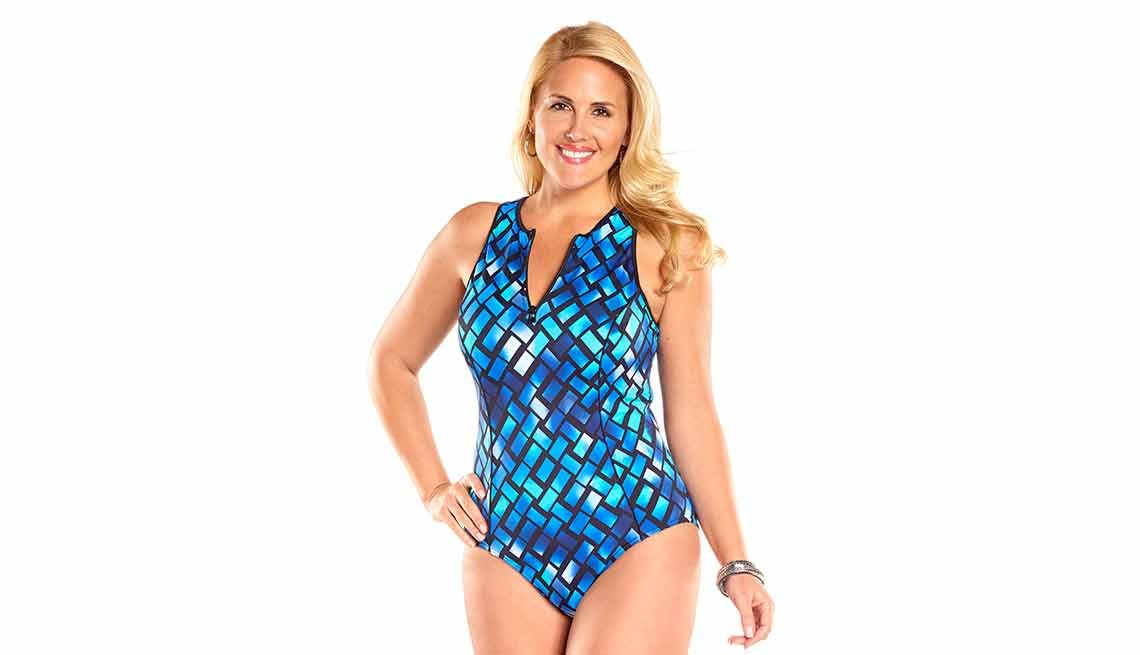 Always for Me Harbor Point Plus Size Swimsuit