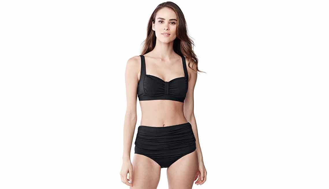 Lands' End Beach Living Sweetheart Bikini Top and Beach Living Convertible Bikini Bottom - Mejores trajes de baño para el verano del 2016