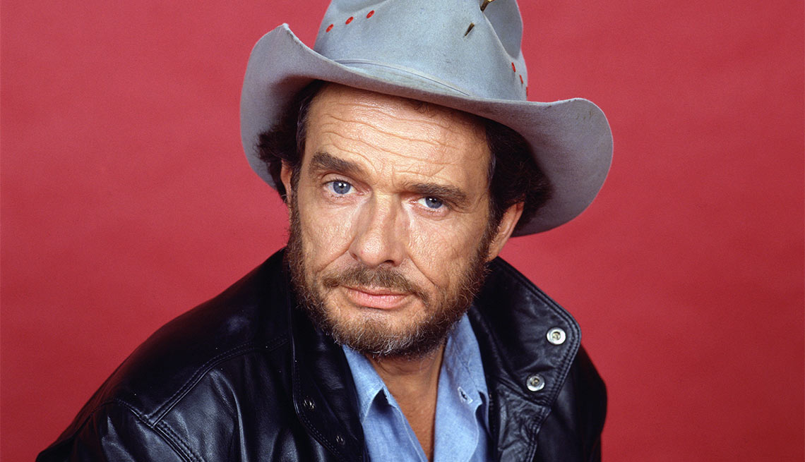 Famous People Lost 2016, Merle Haggard, musician, 79