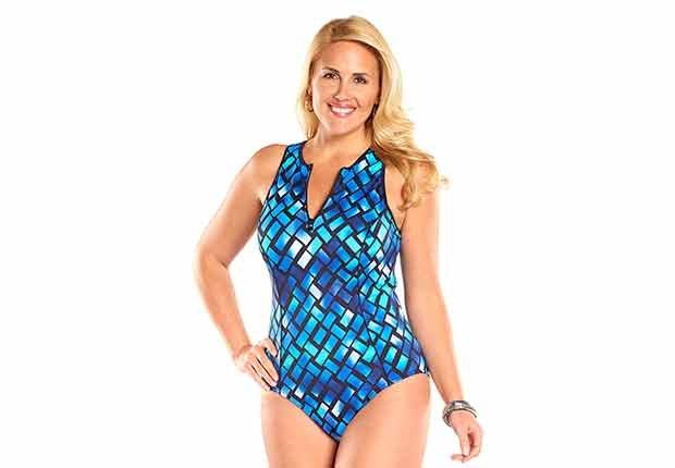 Always for Me Harbor Point Plus Size Swimsuit - Mejores trajes de baño para el verano del 2016