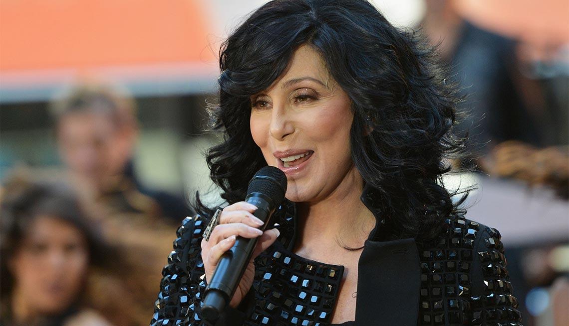 Cher sings on NBC