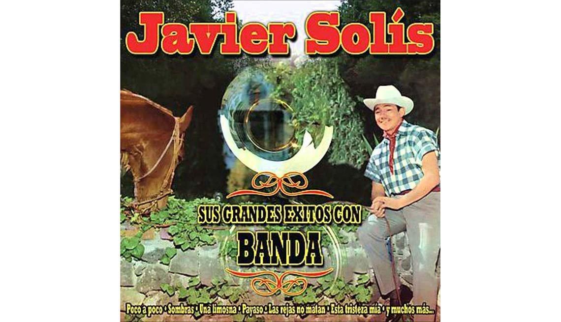 Portada del disco Javier Solís con banda