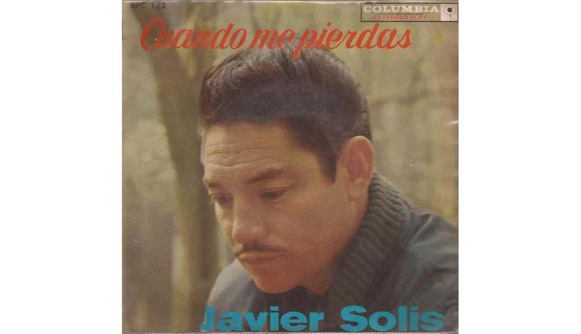 Portada del disco Cuando me pierdas, de Javier Solis