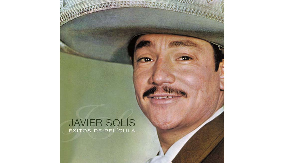 Portada del disco Éxitos de película, de Javier Solis