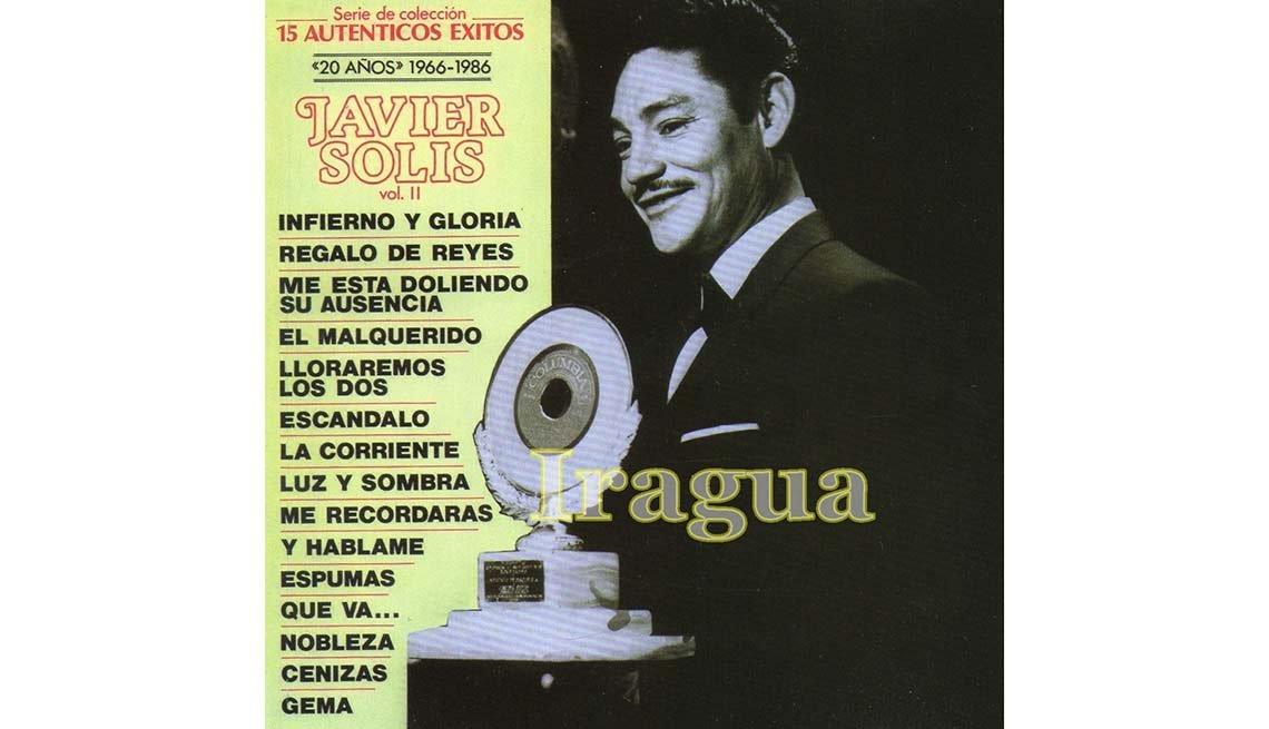 Portada del disco Iragua, de Javier Solis