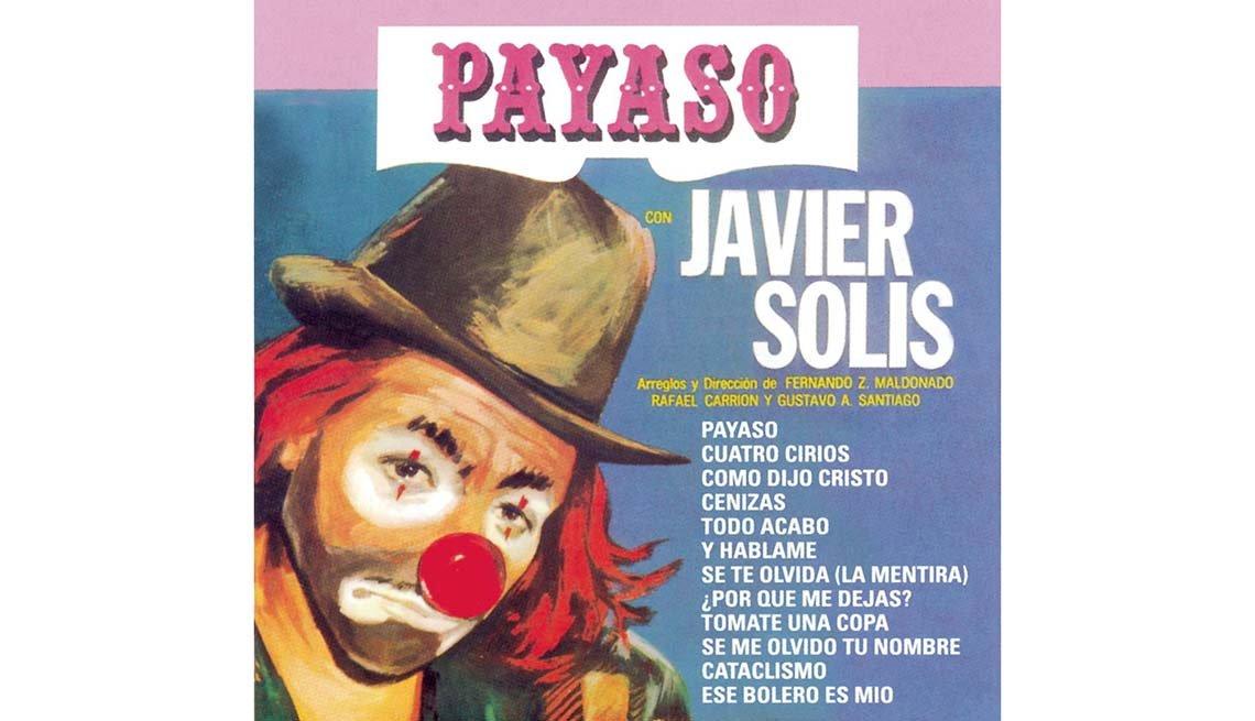 Portada del disco Payaso, de Javier Solis