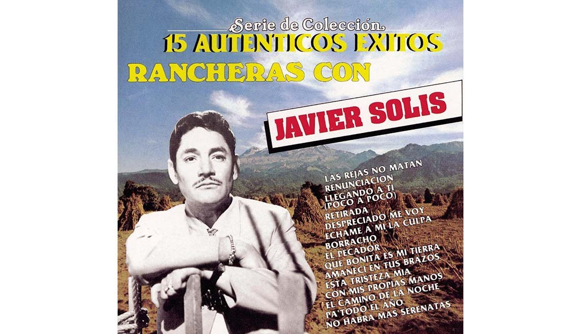 15 Auténticos éxitos rancheras con Javier Solis