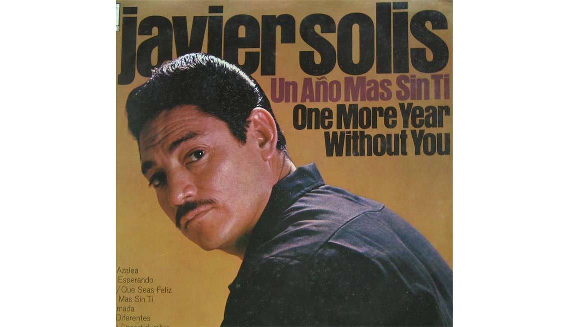 Portada del disco Un año más sin ti, de Javier Solis