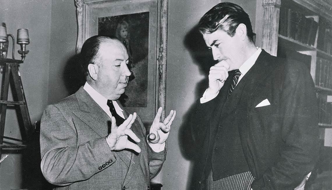Alfred Hitchcock y Gregory Peck - Carrera del actor en Hollywood