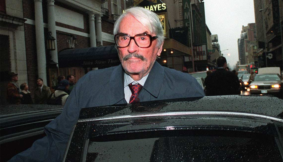 Gregory Peck en Nueva York en 1999 - Carrera del actor en Hollywood