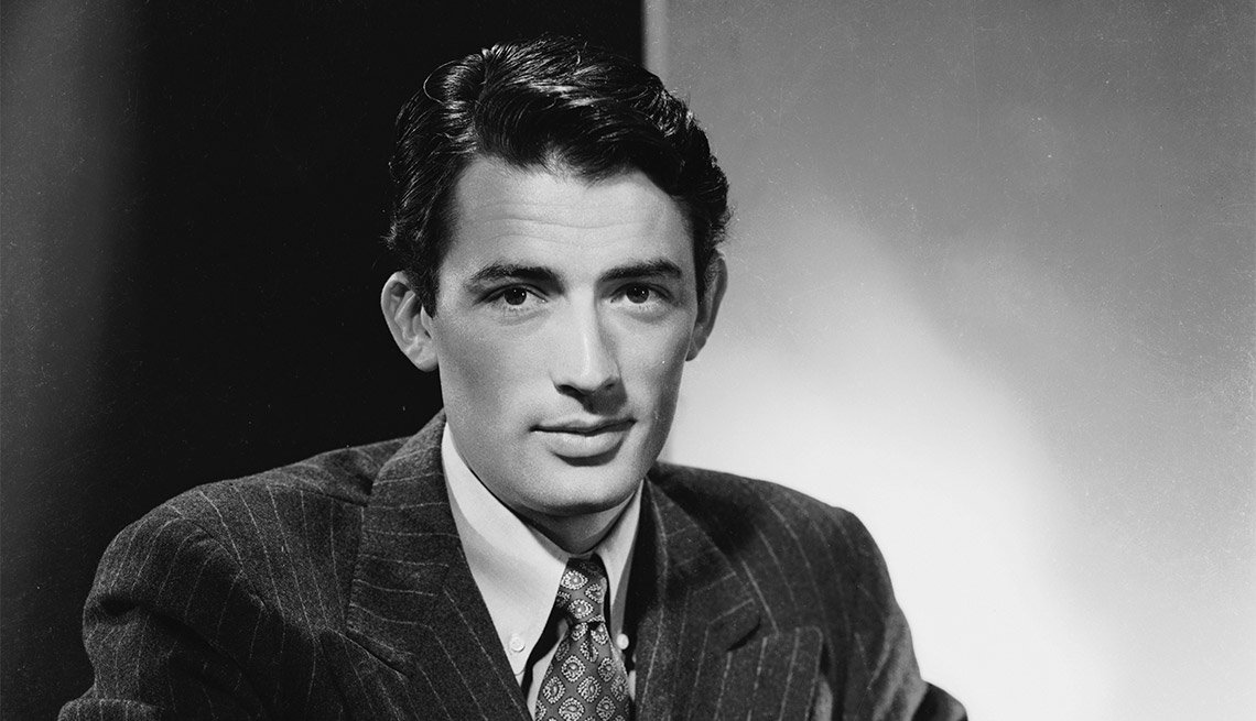 Retrato de Gregory Peck - Carrera del actor en Hollywood