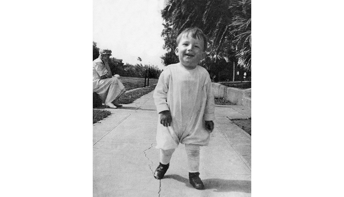 Gregory Peck cuando era un niño - Carrera del actor en Hollywood