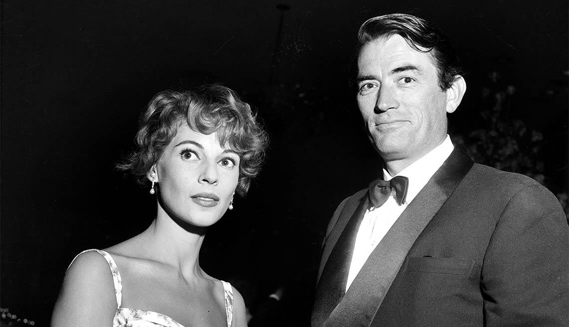 Gregory Peck y su última esposa Veronique Passani - Carrera del actor en Hollywood