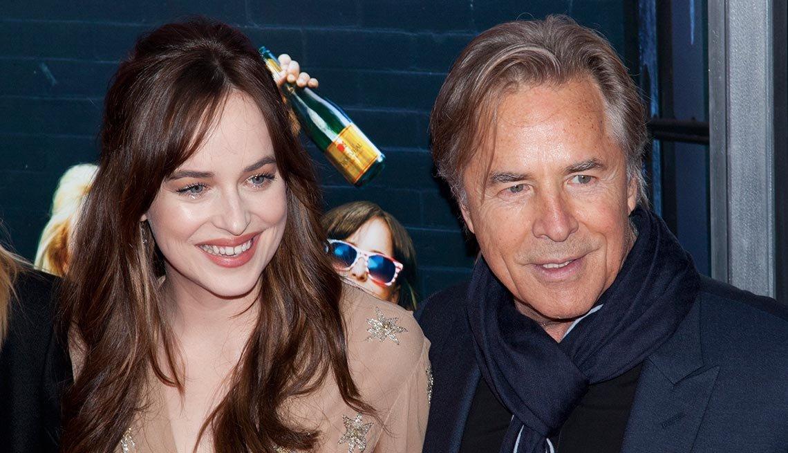 Dakota y Don Johnson - Papás con hijos tan famosos como ellos