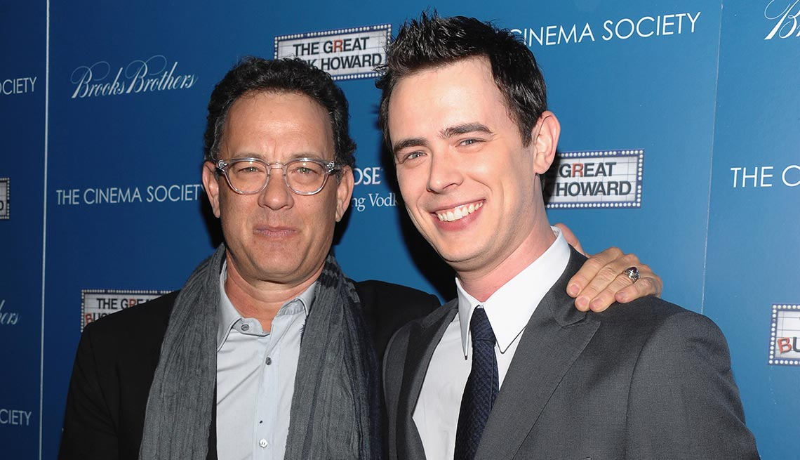 item 9 of Gallery image - Tom y Colin Hanks - Papás con hijos tan famosos como ellos