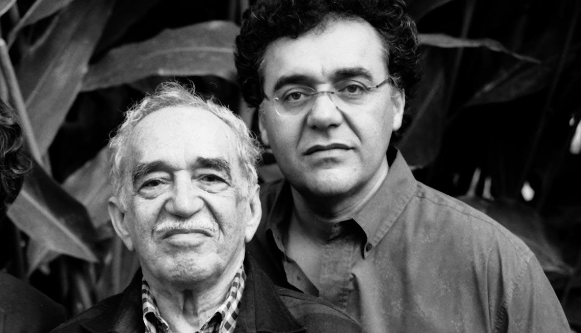 Gabriel García Márquez y Rodrigo García - Papás con hijos tan famosos como ellos