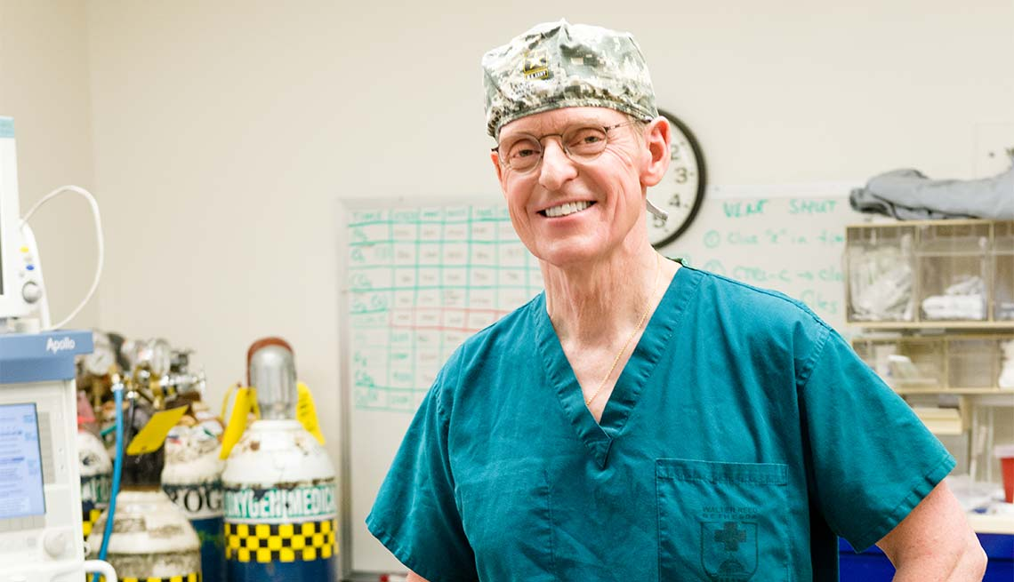 Colonel Frederick Lough, 67, Deputy Chair of Surgery Uniformed Services University of the Health Sciences