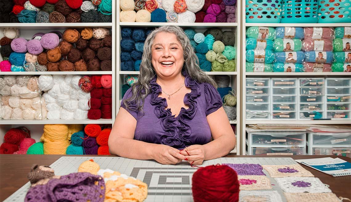 Yolanda Soto Lopez, 55, Host, All Crafts Channel on YouTube