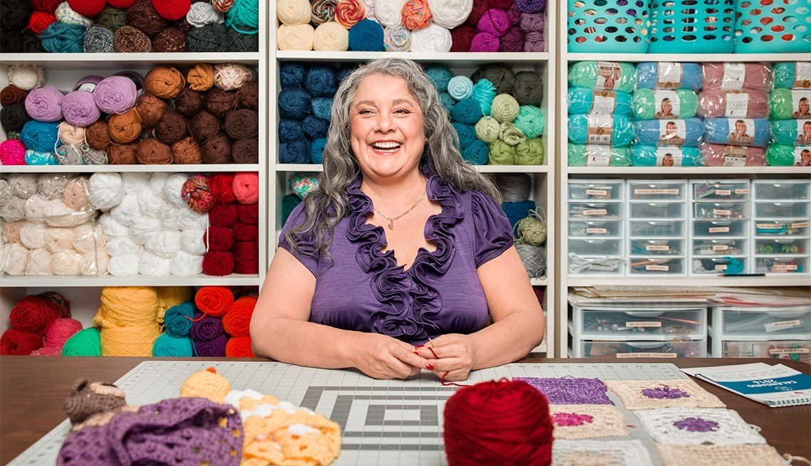 Yolanda Soto Lopez, 55, Host, All Crafts Channel on YouTube