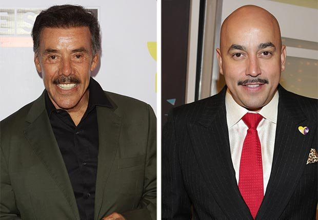 Lupillo y Pedro Rivera - Padres con hijos tan famosos como ellos