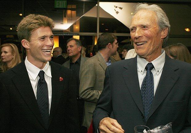 Scott y Clint Eastwood - Papás con hijos tan famosos como ellos