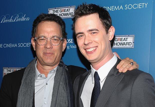 Tom y Colin Hanks - Papás con hijos tan famosos como ellos