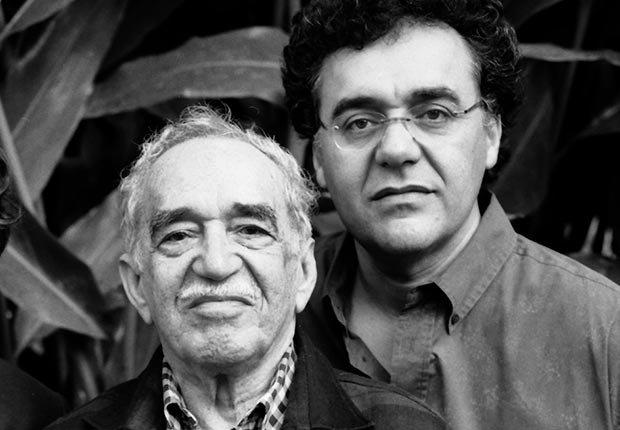 Gabriel García Márquez and Rodrigo Garcia - Papás con hijos tan famosos como ellos