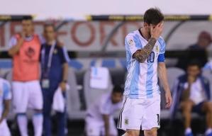 Lionel Messi está frustrado