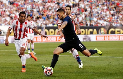 Copa America Centenario United States Paraguay Soccer