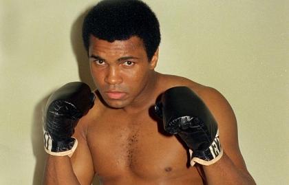 Muhammad Ali en 1974
