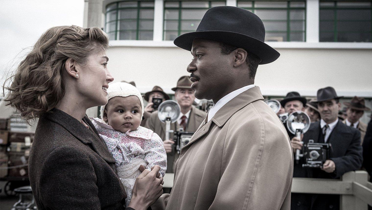 Rosamund Pike and David Oyelowo in 'A United Kingdom'