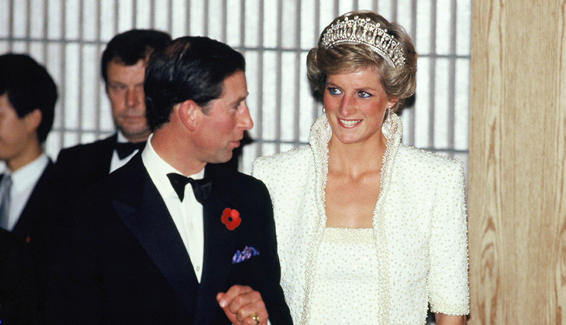 Prince Charles and Princess Diana in Hong Kong, 1989