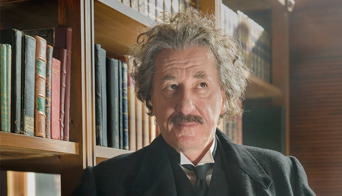 Geoffry Rush in 'Genius'