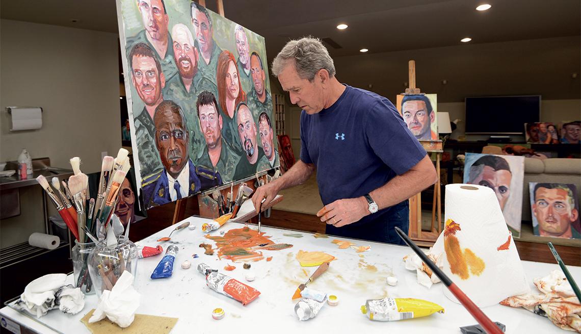 George W. Bush--Portraits of Courage