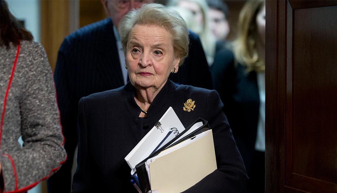 Madeline Albright, 80