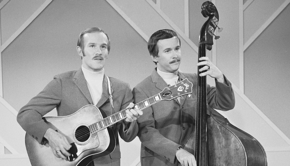 Tom and Dick Smothers on 'The Smothers Brothers Comedy Hour'