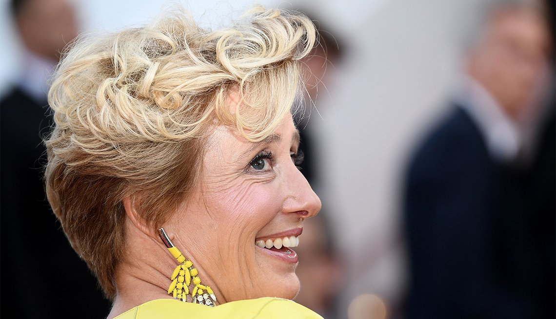 A Crop with Bangs, Emma Thompson