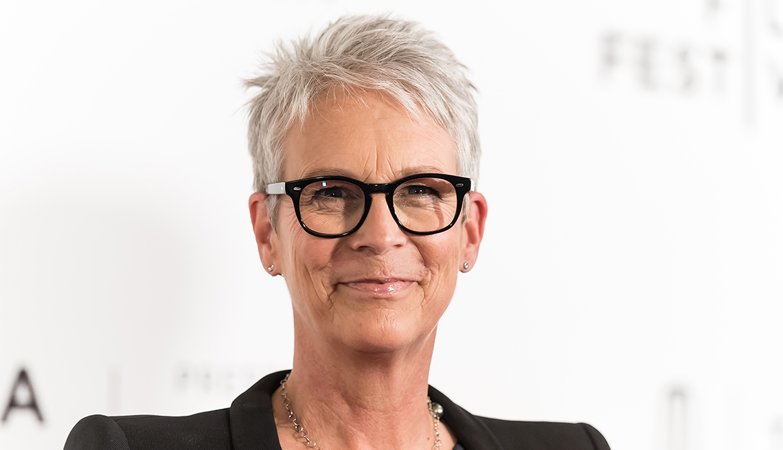 A Tousled Pixie, Jamie Lee Curtis