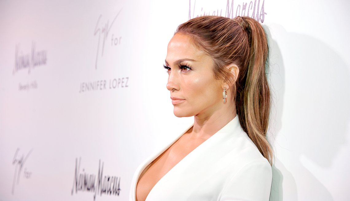 Jennifer Lopez, The Ponytail