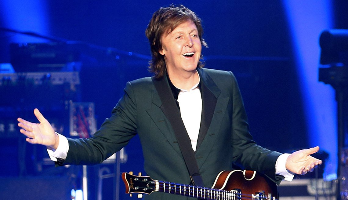 Paul McCartney Turns 75