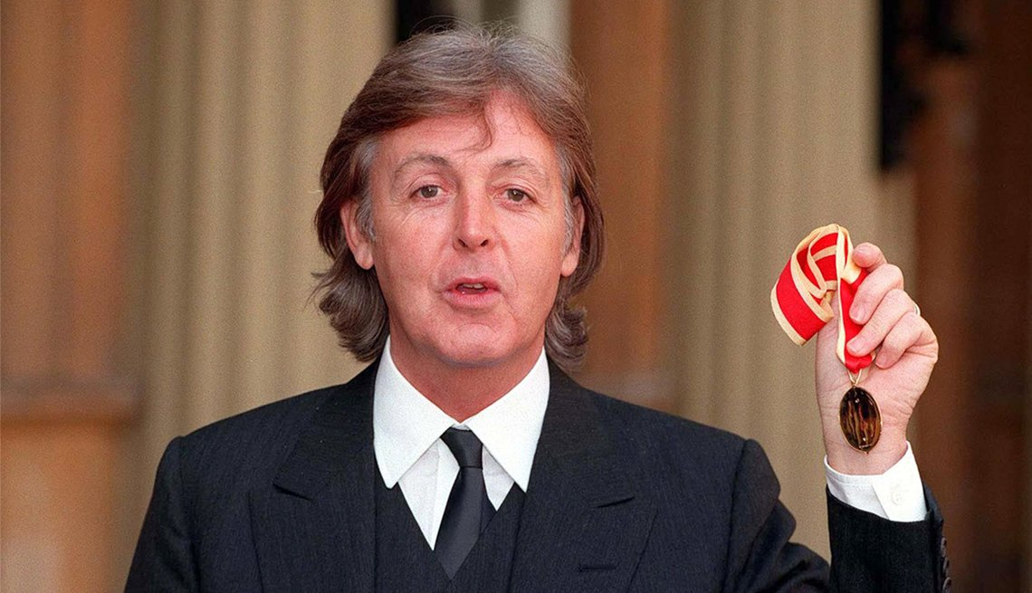 Sir James Paul McCartney, MBE
