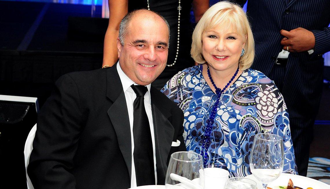 Cristina Saralegui y su esposo Marcos Avila llevan tres décadas como un matrimonio feliz.
