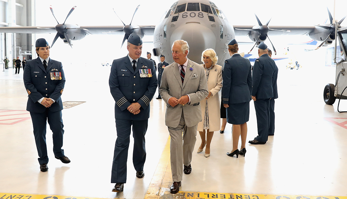 item 7 of Gallery image - Prince Charles, Prince of Wales visits CFB Trenton on official visit to Canada