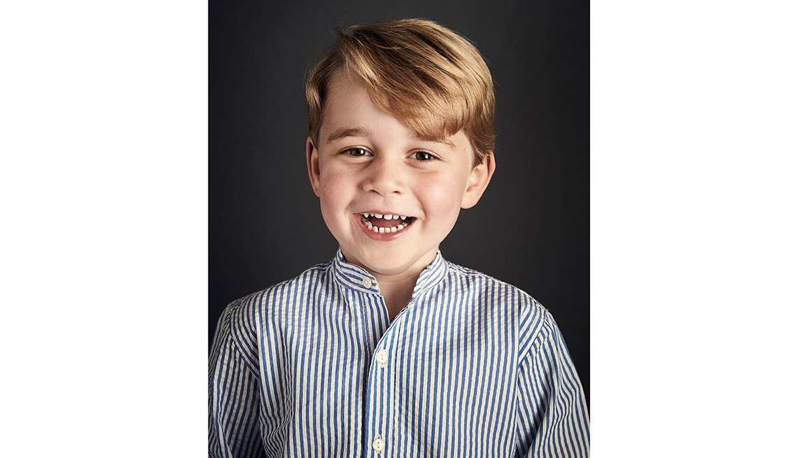Prince George of Cambridge Turns 4