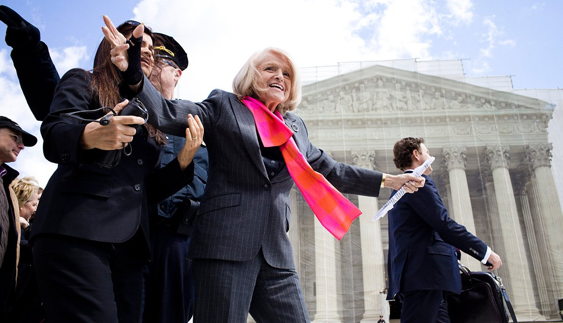 Edith Windsor, Whose Same-Sex Marriage Fight Led to Landmark Ruling, Dies at 88