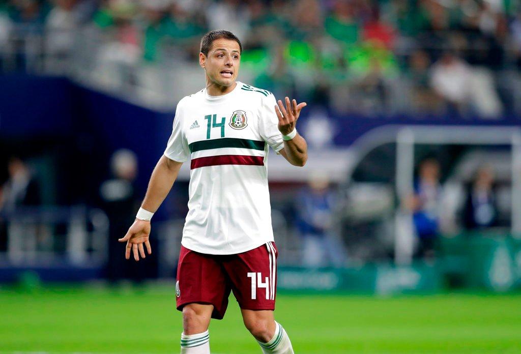 """El mexicano Javier """"Chicharito"""" Hernández"""