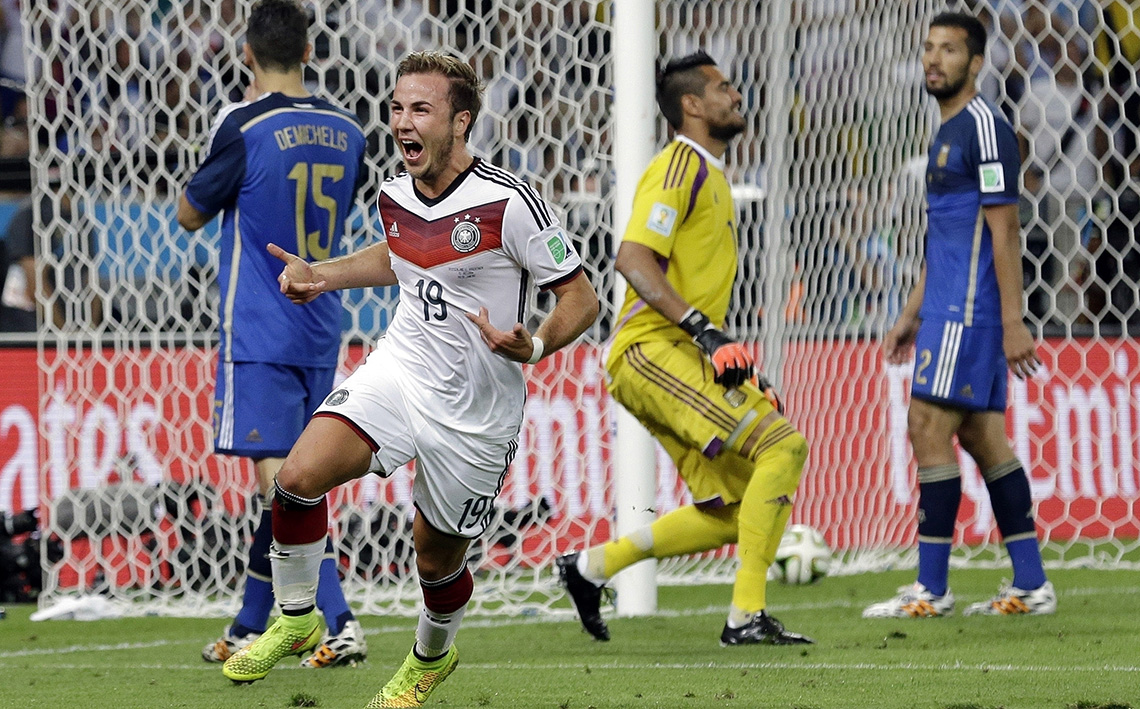 El alemán Mario Goetze es una de las estrella que quedó fuera de Rusia 2018.