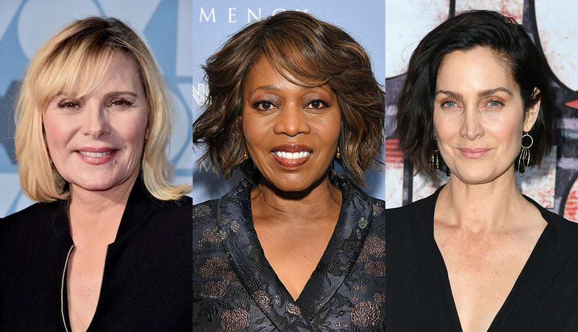 Kim Cattrall, Alfre Woodard and Carrie-Anne Moss