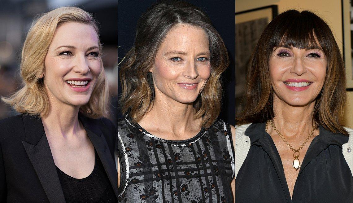 item 4, Gallery image. Cate Blanchett, Jodie Foster y Mary Steenburgen